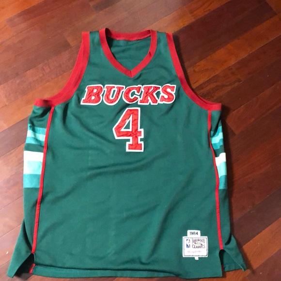 Vintage Milwaukee Bucks Moncrief
